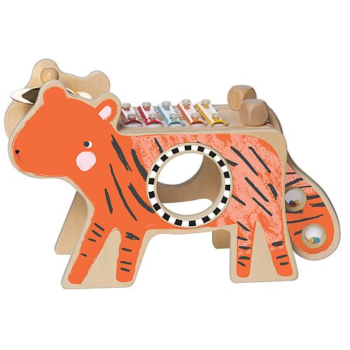 Manhattan Toy Wood Tiger Musical Instrument