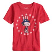 Boys 4-10 Jumping Beans® Peanuts Americana Snoopy Graphic Tee