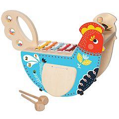 Manhattan Toy Wood Chicken Musical Instrument