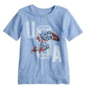 "Boys 4-10 Jumping Beans® Marvel Captain America ""USA"" Graphic Tee"