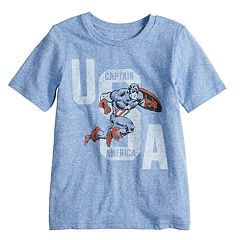 Boys 4-10 Jumping Beans® Marvel Captain America 'USA' Graphic Tee