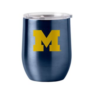 Boelter Michigan Wolverines 16-Ounce Stainless Steel Cup