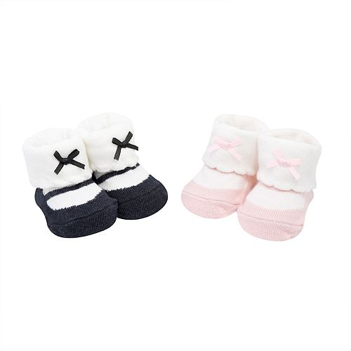 Baby Girl Carter's 2-pack Mary Jane Keepsake Booties