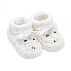 Baby Girl Carter's Unicorn Crochet Booties