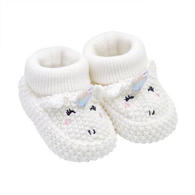 Baby Girl Carter's Unicorn Crochet Booties