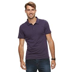 Men's Apt. 9® Soft Touch Birdseye Pique Polo