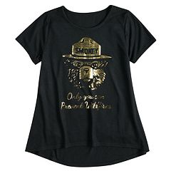 Girls 7-16 Smokey The Bear 'Only You Can Prevent Wildfires' Graphic Tee