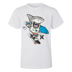 Boys 8-20 Hurley Land Shark Tee
