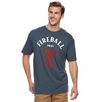 Big & Tall Fireball Whisky Graphic Tee