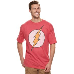 Big & Tall DC Comics The Flash Logo Graphic Tee