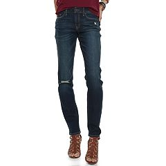 Juniors' SO® Low Rise Skinny Jeans