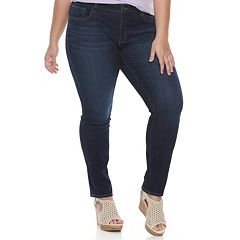Juniors' Plus SO® Low Rise Skinny Jeans