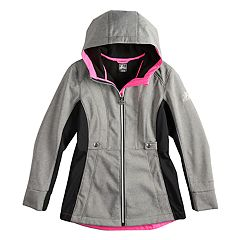 Girls 4-6X Zero Xposure Adriana Softshell Lightweight Jacket