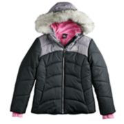 Girls 4-16 ZeroXposur Abree Heavyweight Puffer Jacket