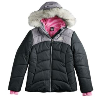 Girls 4-16 ZeroXposur Abree Heavyweight Puffer Jacket
