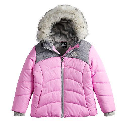 47c6064e5770 Girls 4-16 ZeroXposur Abree Heavyweight Puffer Jacket