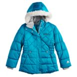 Girls 4-16 ZeroXposur Lexy Faux-Fur Trim Heavyweight Puffer Jacket
