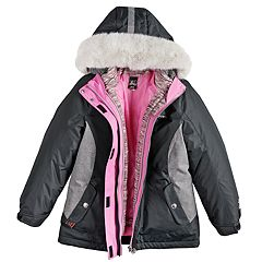 60bd621b3d40 Girls Hooded Active Kids Clothing