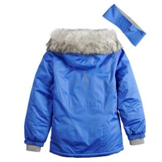 Girls 7-16 ZeroXposur Gigi Snowboard Heavyweight Jacket with Headband