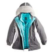 Girls 7-16 Zero Xposure Fortuna Systems Heavyweight Jacket