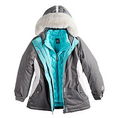 Girls 7-16 ZeroXposur Fortuna Systems Heavyweight Jacket