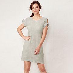 Women's LC Lauren Conrad Tie-Sleeve Swing Dress