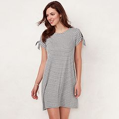 Women's LC Lauren Conrad Tie-Sleeve Swing Dress