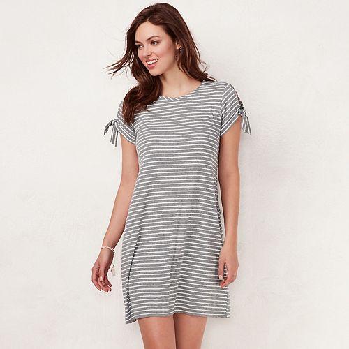 68866628f62e Women s LC Lauren Conrad Tie-Sleeve Swing Dress