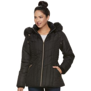 Women's d.e.t.a.i.l.s Hooded Quilted Puffer Jacket