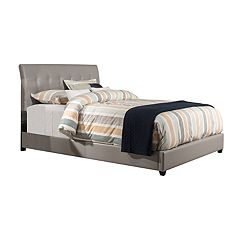 Hillsdale Furniture Lusso Faux-Leather Bed