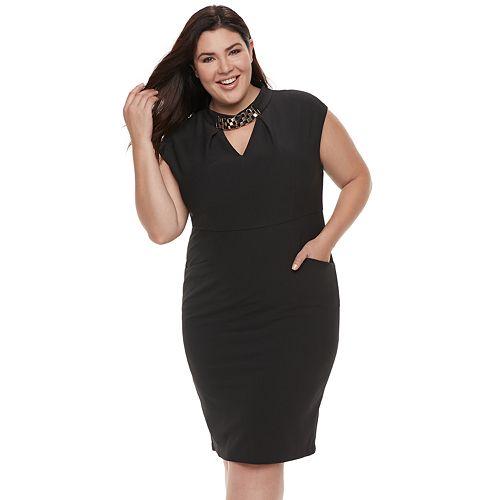 Plus Size Chaya Choker Dress
