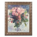 Trademark Fine Art Moss-Roses 1890 Ornate Framed Wall Art