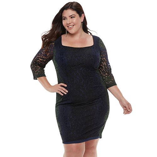 Plus Size Chaya Lace Dress
