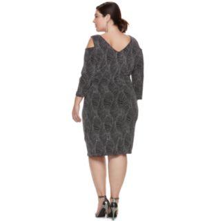 Plus Size Chaya Cold-Shoulder Dress