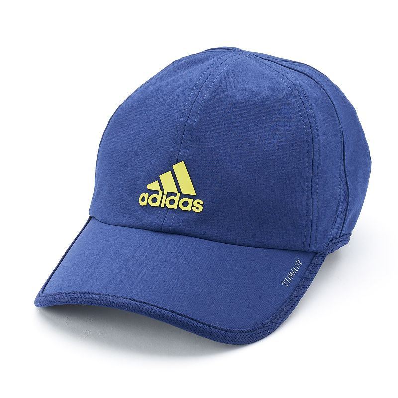 Men's Adidas Superlite Cap, Grey No wardrobe will be complete without this men's Adidas cap. ClimaLite moisture-wicking technology keeps you cool and dry Precurved bill Adjustable back FIT & Sizing One size fits most Fabric & Care Cotton Hand wash Imported Size: Onesize. Color: Grey. Gender: Male. Age Group: Adult. Material: Acrylic.