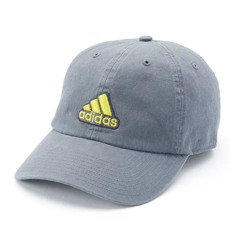 Men's Adidas Ultimate Cap, Grey Complete your look with this men's Adidas cap. ClimaLite moisture-wicking technology keeps you cool and dry Precurved bill Adjustable back FIT & Sizing One size fits most Fabric & Care Cotton Hand wash Imported Size: Onesize. Color: Grey. Gender: Male. Age Group: Adult. Material: Acrylic.
