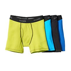 Boys 4-20 Hanes Cool Comfort 4-Pack Boxer Briefs