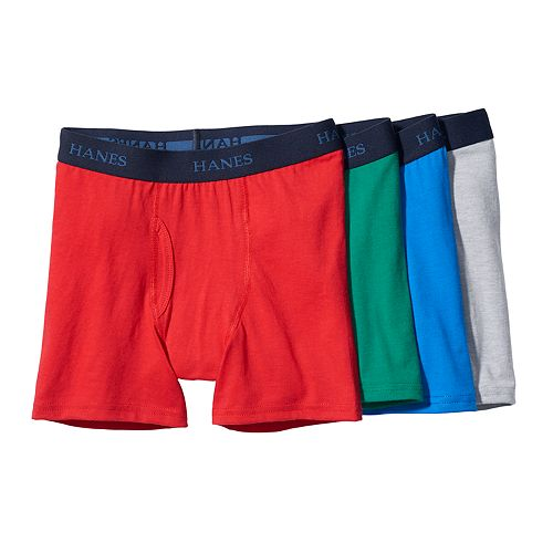 Hanes Boys Boxer Briefs Pack of 6
