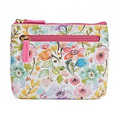 Buxton Petite Garden Pik-Me-Up RFID-Blocking Large ID Coin & Card Case