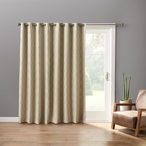 Sonoma Goods For Life? Embroidered Dynasty Patio Curtain - 100'' x 84''