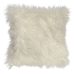 Spencer Home Decor Potter Faux Fur Throw Pillow Cover