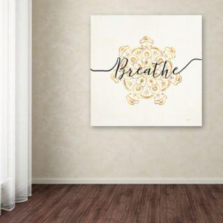 Trademark Fine Art Namaste I Canvas Wall Art