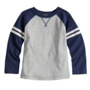 Baby Boy Jumping Beans® Striped Raglan Tee