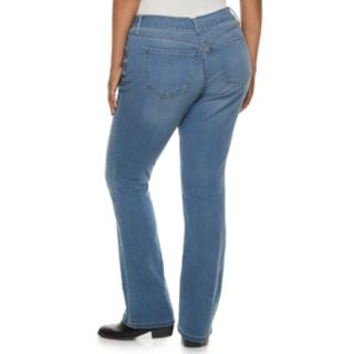 Juniors' Plus Size Mudd® Low-Rise Slim Bootcut Jeans