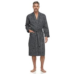 Men's Residence Sateen Kimono Robe