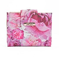 Buxton Brilliant Floral RFID-Blocking Lexington Wallet