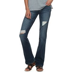 Juniors' Mudd® Low-Rise Slim Bootcut Jeans