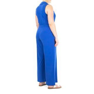 Women's Nina Leonard Wide-Leg Jumpsuit