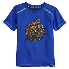 Boys 4-10 Marvel Hero Elite Series Avengers Infinity Wars Collection for Kohl's Shield Logo Active Tee