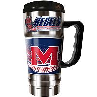 Ole Miss Rebels Champ 20-Oz. Travel Tumbler Mug